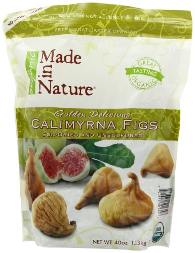 Made In Nature Organic Club Pack, Calimyrna Figs, 40-Ounce