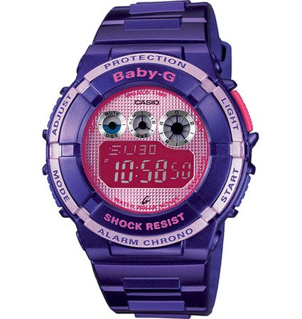 Baby-G World Time Chronograph Lavender Dial Women's watch #BGD121-6
