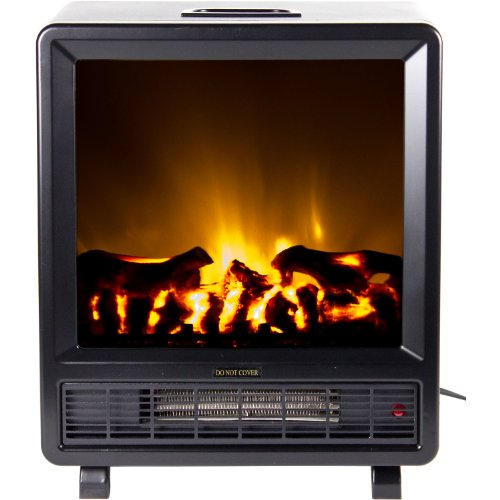 Frigidaire TFF-10308 Topaz Floor Standing Electric Fireplace - Black photo B008VOXA2M.jpg