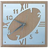 Wood with Aluminum Wall Clock Trade Show Giveaway