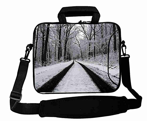 cool-print-custom-landscapes-forest-road-winter-laptop-bag-for-boys-gift-15154156-for-macbook-pro-le