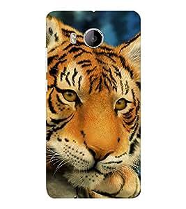 EPICCASE Cutie Baby Tiger Mobile Back Case Cover For VIVO X shot (Designer Case)