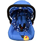 Baybee Baby Car Seat Cum Carry Cot With Canopy (Blue)