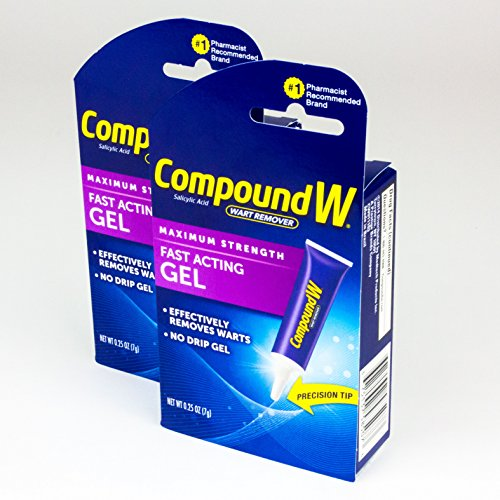 Compound W Wart Remover Fast-Acting Gel (Pack of 2)
