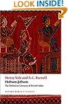 Hobson-Jobson The Definitive Glossary...
