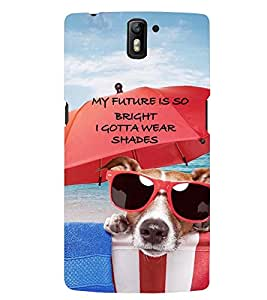 PRINTSWAG QUOTE Designer Back Cover Case for ONE PLUS ONE