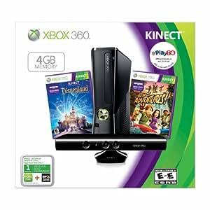 Xbox 360 4GB with Kinect Holiday Value Bundle (Amazon exclusive Bonus Value)