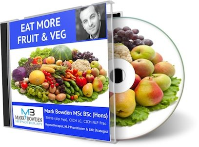 Eat More Fruit And Vegetables Hypnosis Cd - It Can Be A Test Of Willpower To Eat Healthy Foods And Unfortunately This Willpower Will Always Lose Eventually To Your Natural Instinct. This Recording Will Help To Change Your Natural Instinct So That You Auto