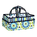 Trend Lab Waverly Solar Flair Diaper Caddy, Blue