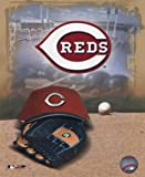 Cincinnati Reds '05 Logo / Cap and Glove MLB Baseball Photo Print (8 x 10) at Amazon.com