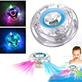 from Vktech Vktech Colorful Bathroom LED Light Toys Kids Funny Bathing Toys Waterproof in Tub