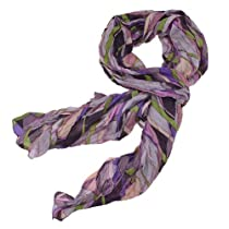 172cm Multicolor Geometric Printed Scarf for Woman