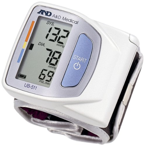 A & D Advanced Wrist Blood Pressure Monitor
