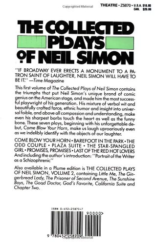 an analysis of neil simons play in the barefoot Barefoot in the park synopsis favorite theater button overview movie times + tickets synopsis more cast + crew in this film based on a neil simon play.