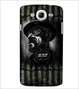 PrintDhaba Hat Man D-5081 Back Case Cover for SAMSUNG GALAXY MEGA 5.8 (Multi-Coloured)