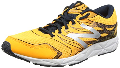 New BalanceM590LL5 - Scarpe Running uomo, Arancione (Orange (Orange/Grey)), 44.5