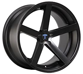 19″ Rohana Wheel Rc22 19×8.5 19×9.5 Matte Black Fits BMW M3 5×120