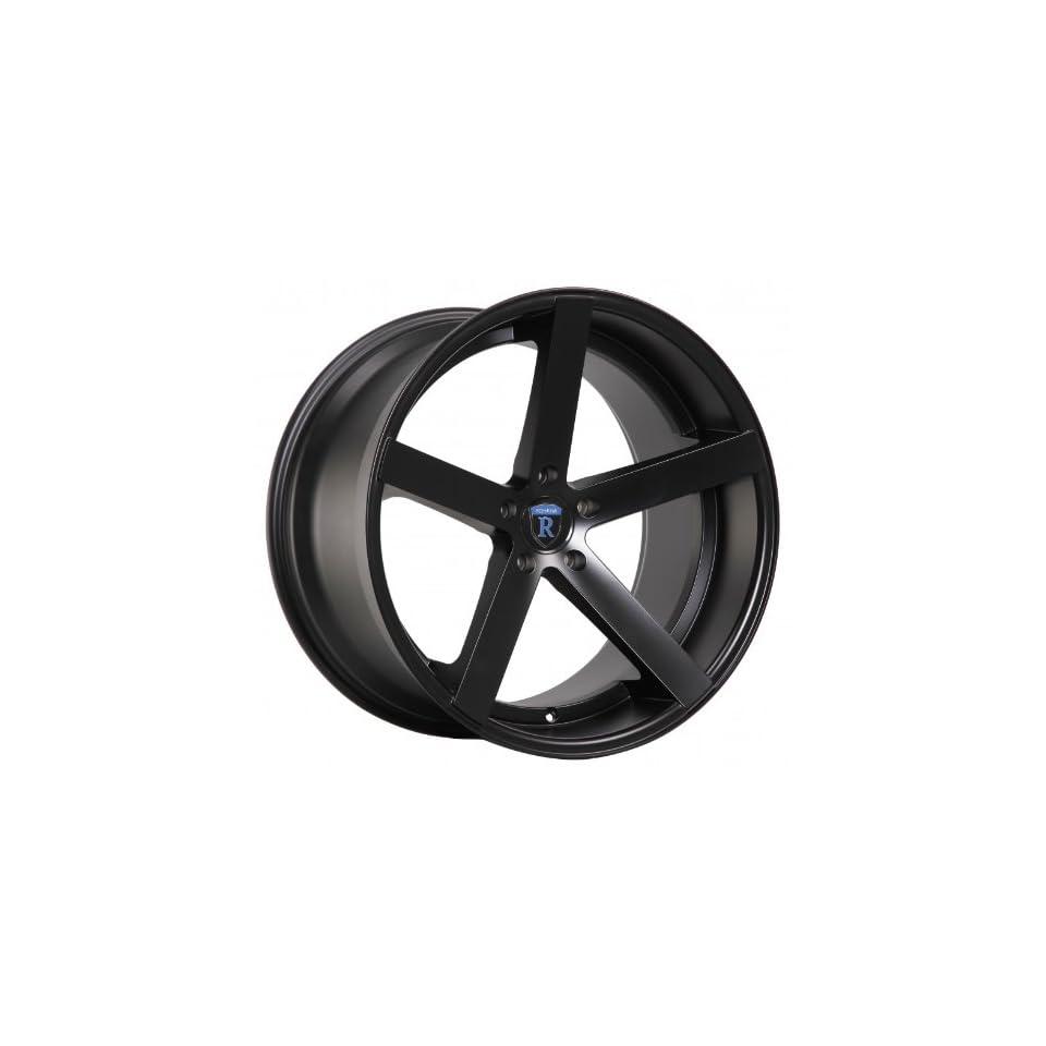 20 Rohana Wheel Rc22 20x9 20x10 Dodge Challenger Charger Magnum Chrysler 300c 300 Rims Matte Black 5x115
