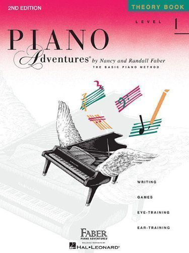 Piano Adventures Theory Book, Level 1 2nd (second) Edition published by Faber Piano Adventures (1993) Paperback (Piano Adventures Level 1 compare prices)