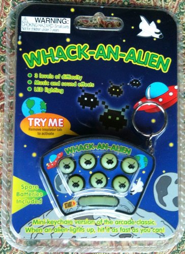 Whack-An-Alien Game - 1