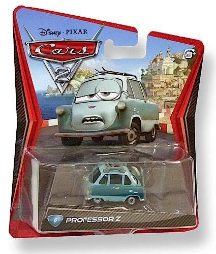 Disney Pixar cars 2 Professor