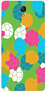 Snoogg Mosaic Tiles Colourful 2882 Case Cover For Xiaomi Redmi Note