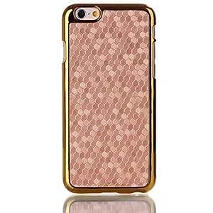 Ultra Slim Case for iPhone 6 4.7 Inch - Premium PC + Plating Case for iPhone 6 4.7 Inch (2014 New Release) (Gold)