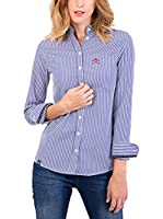 POLO CLUB CAPTAIN HORSE ACADEM Camisa Mujer Margot Academy (Azul)