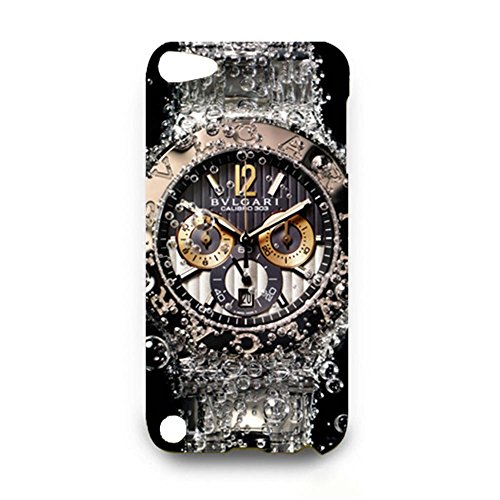 Cartier Phone Case Series Luxury Automatic Watch Customized Thin Protective Plastic 3D Case Cover L6M073 For Ipod Touch 5th