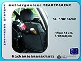 2 X ORGANIZER Rückenlehnenschutz Auto Organizer
