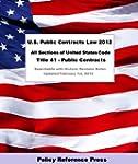 U.S. Public Contracts Law 2012 (U.S.C...