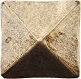 Dritz 44271 Upholstery Decorative Square Head Nails, Antique Brass, 3/4-Inch, 10-Pack