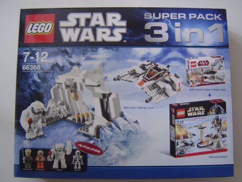 LEGO® Star WarsTM 66366 3in1 (8089, 8083, 7749)