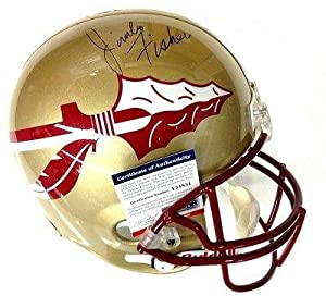 Jimbo Fischer Signed Florida State Seminoles Full Size Helmet Psa dna by Sports+Memorabilia