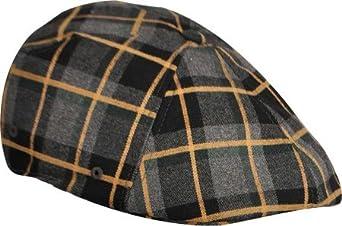 Kangol K1499FA Mens Plaid 504 Hat, Chain Plaid-S/M
