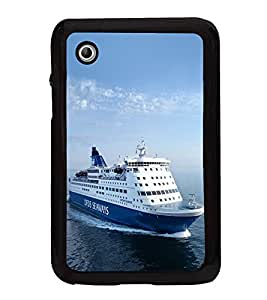 Ship on the Sea 2D Hard Polycarbonate Designer Back Case Cover for Samsung Galaxy Tab 2 :: Samsung Galaxy Tab 2 P3100