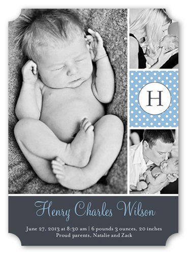 Birth Announcement Photo Cards front-849244