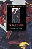 img - for The Cambridge Companion to Ezra Pound (Cambridge Companions to Literature) book / textbook / text book