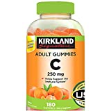 Kirkland Signature xqgzQB Vitamin C 250 mg., 180 Adult Gummies