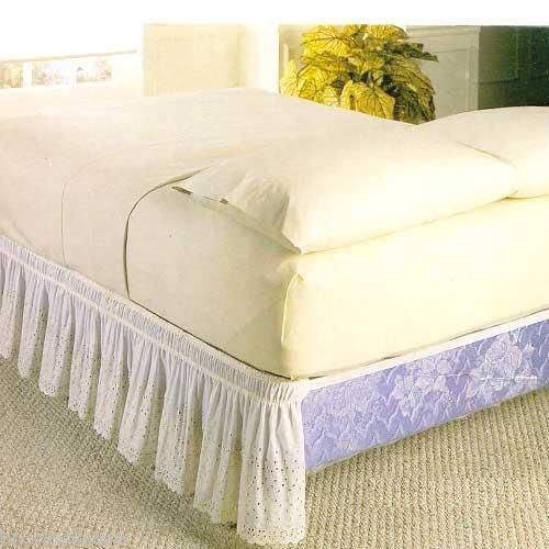 18 Inch Bedskirt Queen 4444 front