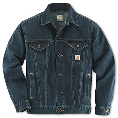 Carhartt Workwear Denim Jeans Jacket Unlined