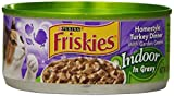 Purina Friskies Indoor Homestyle Turkey Dinner with Garden Greens in Gravy Cat Food - (24) 5.5 oz. Pull-top Can