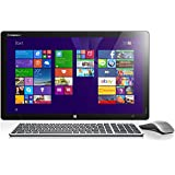 Lenovo Horizon 2e 54,6 cm (21,5 Zoll) FHD LED All-in-One Desktop-PC (Intel Core i3-4030U, 1,9GHz, 4GB RAM, 500GB HDD, integrierte Grafik, NFC, Touchscreen, Win 8.1) silber