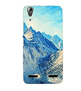 Doyen Creations Designer Printed High Quality Premium case Back Cover For Lenovo A6000 Plus