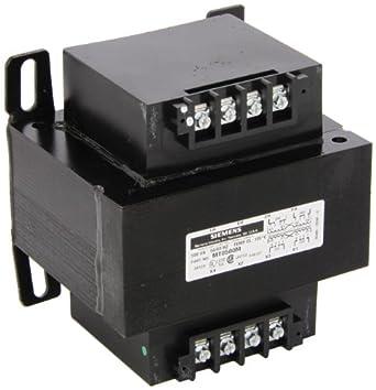 Siemens MT0075C Industrial Power Transformer, Domestic, 120 X 240 Primary Volts 50/60Hz, 24 Secondary Volts, 75VA Rating