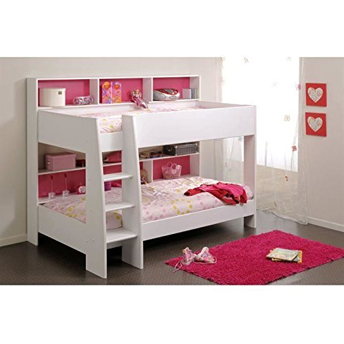 parisot kinderbett etagenbett tam tam wei. Black Bedroom Furniture Sets. Home Design Ideas