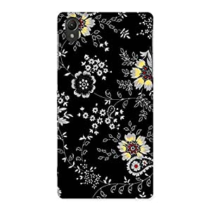Cute Classic Flower Back Case Cover for Sony Xperia Z2