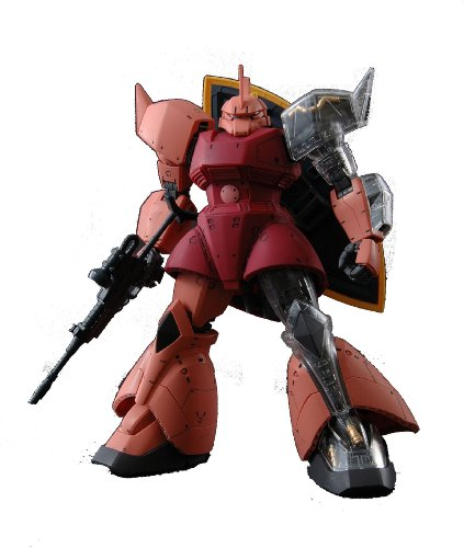 Gundam MS-14S Gelgoog Char Custom Ver 2.0 with Extra Clear Body parts MG 1/100 Scale