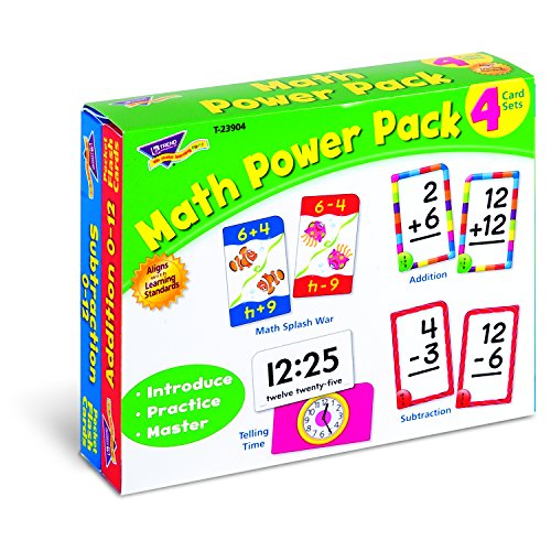 Trend Enterprises Math Power Pack Novelty - 1
