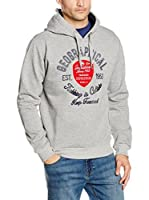 Geographical Norway Sudadera con Capucha Garlon (Gris)